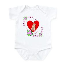 Shar Pei Love Infant Bodysuit