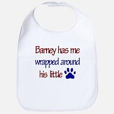 Barney Has Me Wrapped Around Bib
