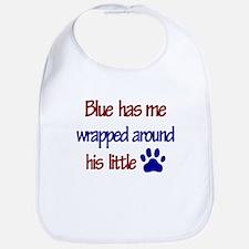 Blue Has Me Wrapped Around Hi Bib