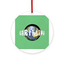 Earthling Keepsake (Round)