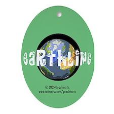 Earthling Keepsake (Oval)