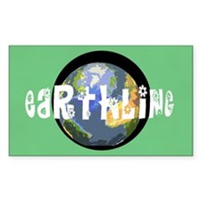 Earthling Rectangle Decal
