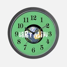 Earthling Wall Clock
