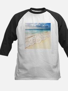 Beautiful Beach Kids Baseball Jersey