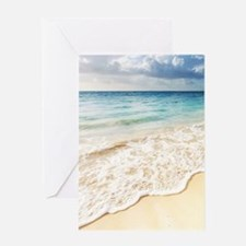 Beautiful Beach Greeting Card