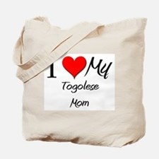 I Love My Togolese Mom Tote Bag