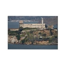 Alcatraz Island 2 Rectangle Magnet