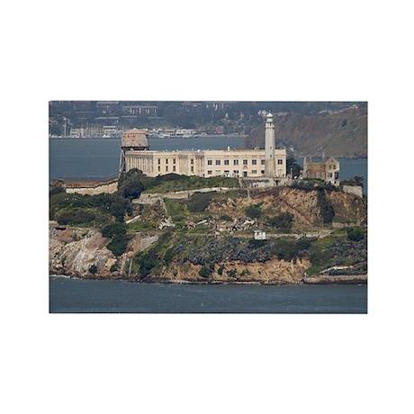 Alcatraz Island 2 Rectangle Magnet