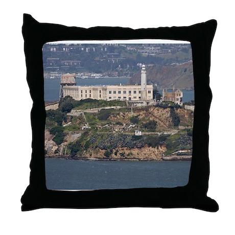 Alcatraz Island 2 Throw Pillow