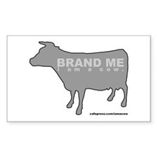 Branded Rectangle Decal