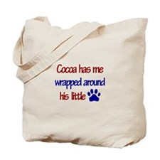 Cocoa Has Me Wrapped Around H Tote Bag