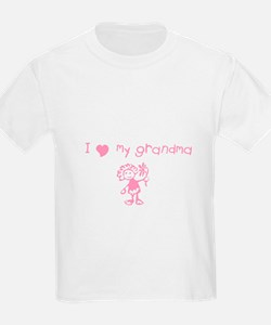 I love my grandma T-Shirt