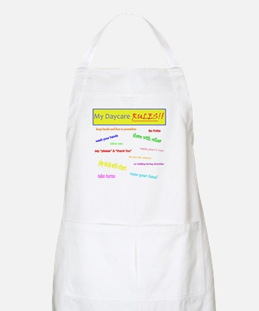 My Daycare Rules BBQ Apron