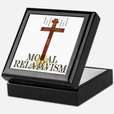 Moral Relativism Keepsake Box