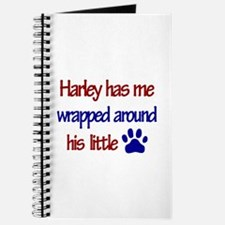 Harley Has Me Wrapped Around Journal
