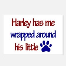 Harley Has Me Wrapped Around Postcards (Package o