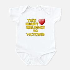 This Heart: Victoria (D) Infant Bodysuit