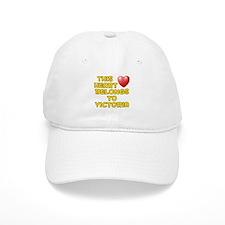 This Heart: Victoria (D) Baseball Cap
