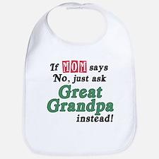 Just Ask Great Grandpa! Bib