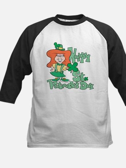 Happy St. Patrick's Day Kids Baseball Jersey