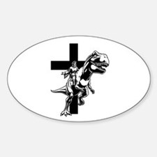 Jurassic Lord Oval Decal
