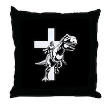 Jurassic Lord Throw Pillow