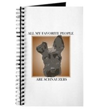 All My Favorite (brown)- Journal