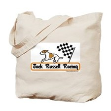 Jack Russell Racing Tote Bag