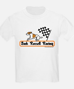 Jack Russell Racing Kids T-Shirt