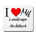 I Heart My Landscape Architect Mousepad