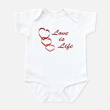 Love is Life Infant Bodysuit