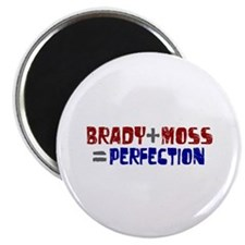 """Brady to Moss Perfection 2.25"""" Magnet (100 pack)"""