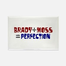 Brady to Moss Perfection Rectangle Magnet