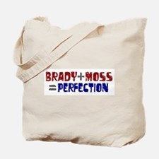 Brady to Moss Perfection Tote Bag