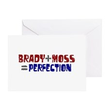 Brady to Moss Perfection Greeting Card