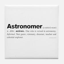 Astronomer Tile Coaster