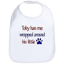 Toby Has Me Wrapped Around Hi Bib