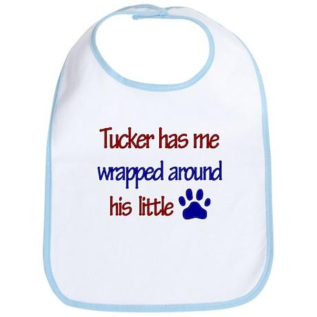 Tucker Has Me Wrapped Around Bib