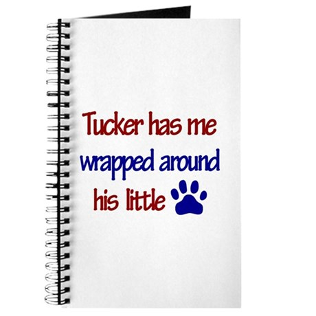 Tucker Has Me Wrapped Around Journal