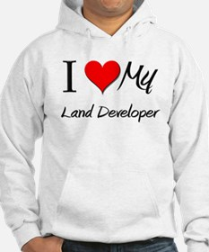 I Heart My Land Developer Hoodie