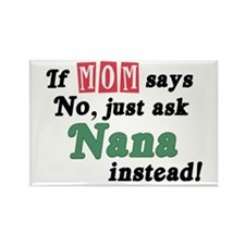 Just Ask Nana! Rectangle Magnet (10 pack)