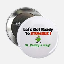 """St.Paddy's Day 2.25"""" Button"""