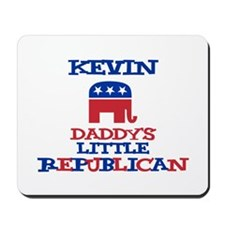 Kevin - Daddy's Little Republ Mousepad