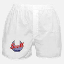 Cute Ariel motorcycle Boxer Shorts