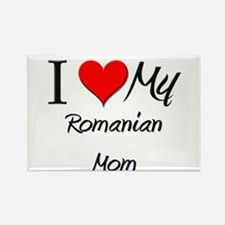 I Love My Qatari Mom Rectangle Magnet