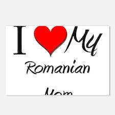 I Love My Qatari Mom Postcards (Package of 8)