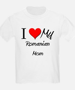 I Love My Qatari Mom T-Shirt