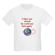Love You Around the World & Back T-Shirt