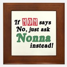 Just Ask Nonna! Framed Tile