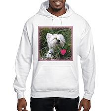Nature Boy Westie Valentine Hoodie